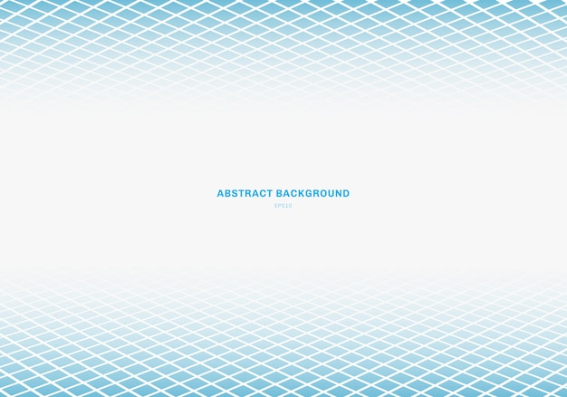 Abstracte blauwe vierkante achtergrond