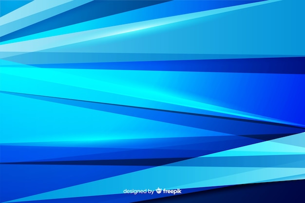 Abstracte blauwe vormen decoratieve achtergrond