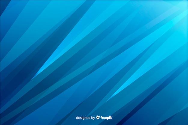 Abstracte blauwe vormenachtergrond