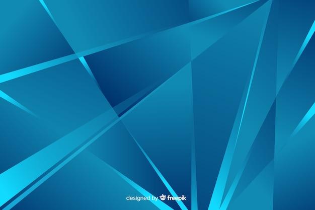 Abstracte blauwe vormenstijl als achtergrond