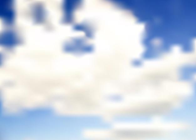 Abstracte blauwe wolk achtergrond vectorillustratie. eps10