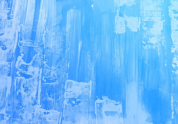 Abstracte blauwe zachte aquarel textuur