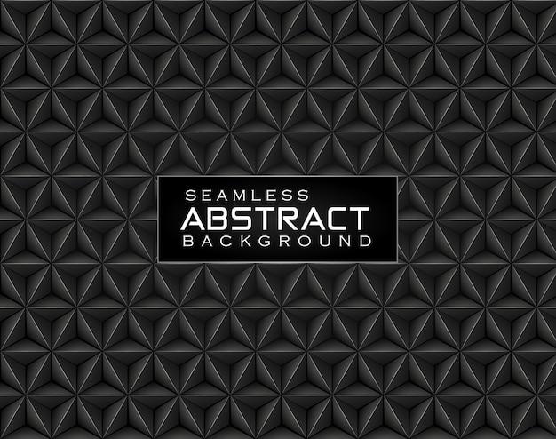 Abstracte bloemen veelhoekige naadloze patroonachtergrond