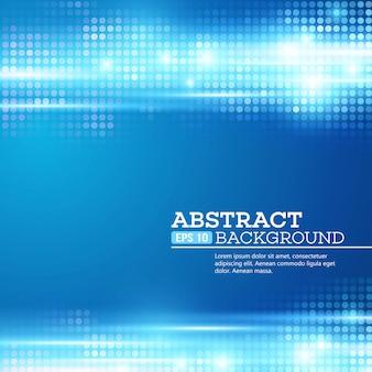 Abstracte bokeh steekt achtergrond aan. disco muziek. vector illustratie