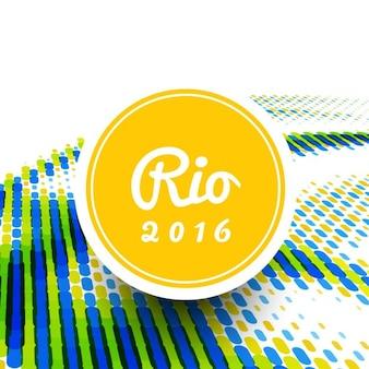 Abstracte brazilië gekleurde achtergrond ontwerp