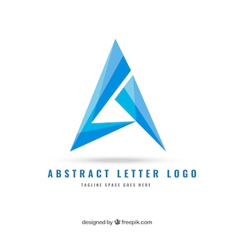 Abstracte brief logo