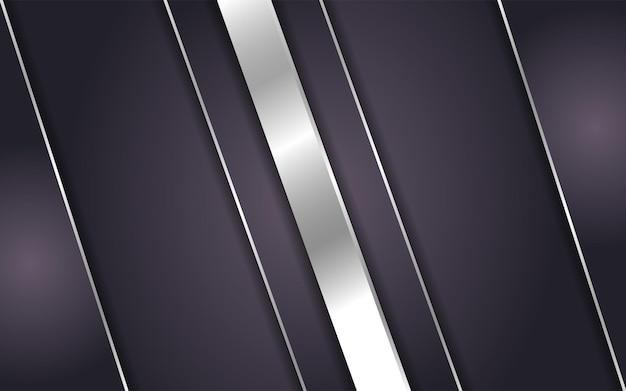 Abstracte bruine achtergrond met lijn zilver