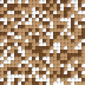 Abstracte bruine blokkenachtergrond
