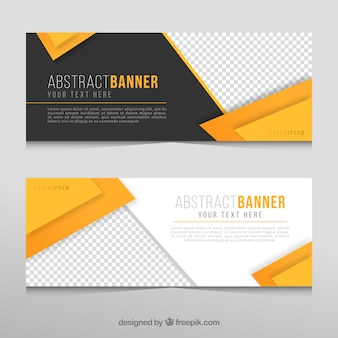 Abstracte business banners