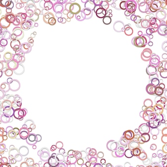 Abstracte chaotische cirkelachtergrond