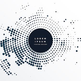Abstracte cirkel halftone effect achtergrond
