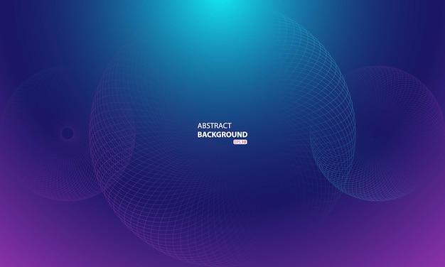 Abstracte cirkel swirl vector achtergrond