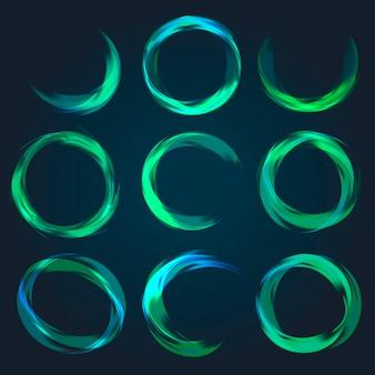 Abstracte cirkelcollectie