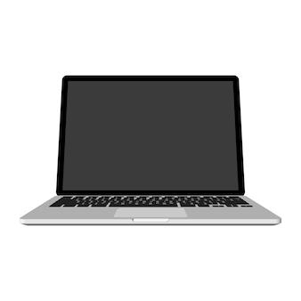 Abstracte creatieve laptop, notitieboekjemalplaatje.