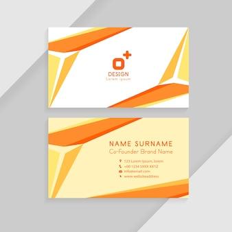 Abstracte creatieve visitekaartjes. identiteitskaart sjabloon bedrijfsconcept.