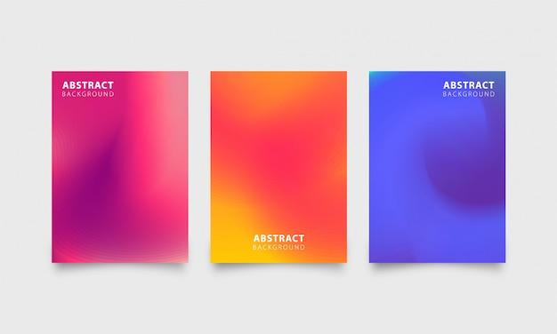 Abstracte de textuur vastgestelde achtergrond van de gradiënttextuur