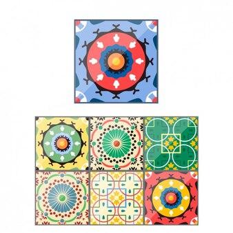 Abstracte decoratives achtergronden