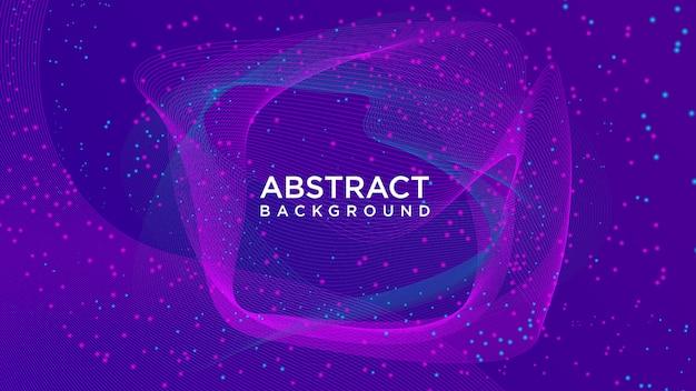 Abstracte deeltjesachtergrond