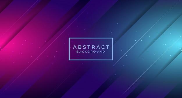 Abstracte diagonale futuristische achtergrond