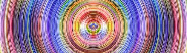 Abstracte digitale achtergrond met cirkel ringen toekomstig concept