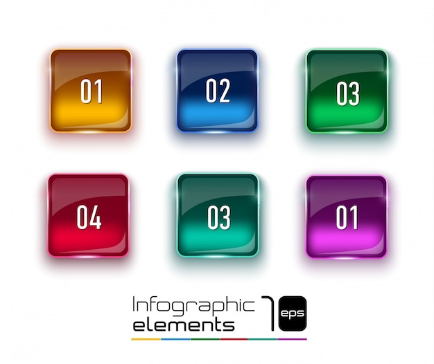 Abstracte digitale afbeelding infographic.