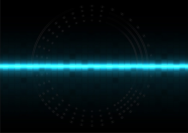 Abstracte digitale technologie besturingssysteem achtergrond sjabloon