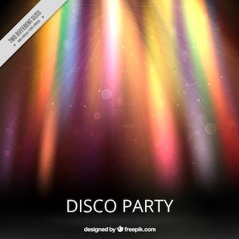 Abstracte disco partij achtergrond