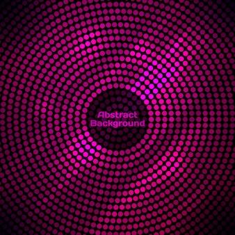 Abstracte discoachtergrond met halftone