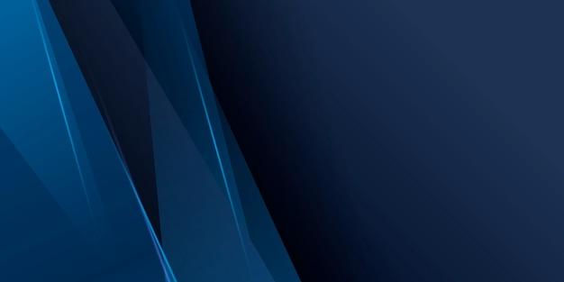 Abstracte donkerblauwe achtergrond met modern bedrijfsconcept