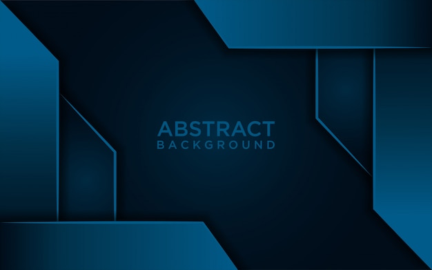 Abstracte donkerblauwe achtergrond