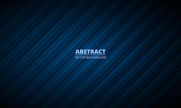 Abstracte donkerblauwe geometrische achtergrond met modern bedrijfsconcept