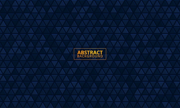 Abstracte donkerblauwe textuurachtergrond Premium Vector