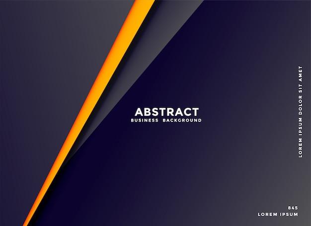 Abstracte donkere achtergrond met geometrische lijnenvorm