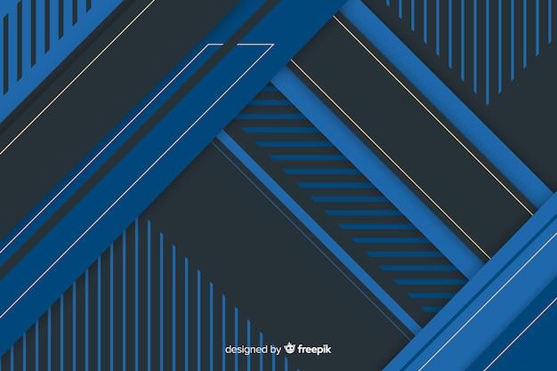 Abstracte donkere achtergrond met geometrische vormen