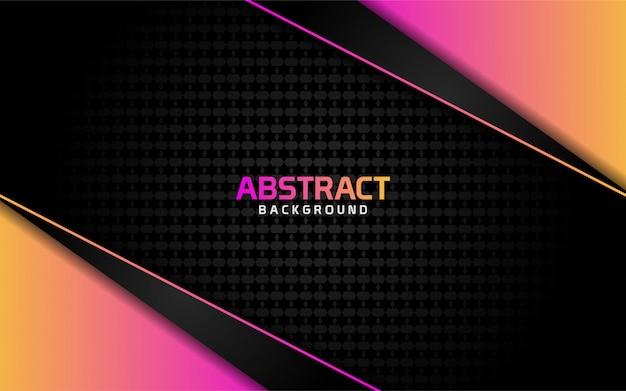 Abstracte donkere achtergrond met kleurrijke glanzend effect