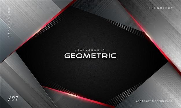 Abstracte donkere geometrische achtergrond