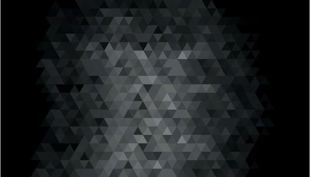 Abstracte donkere geometrische vormachtergrond