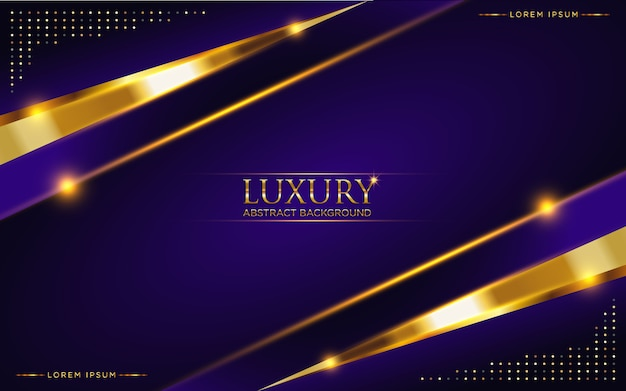 Abstracte donkere paarse luxe achtergrond met gouden glitter