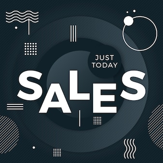 Abstracte donkere verkoopachtergrond