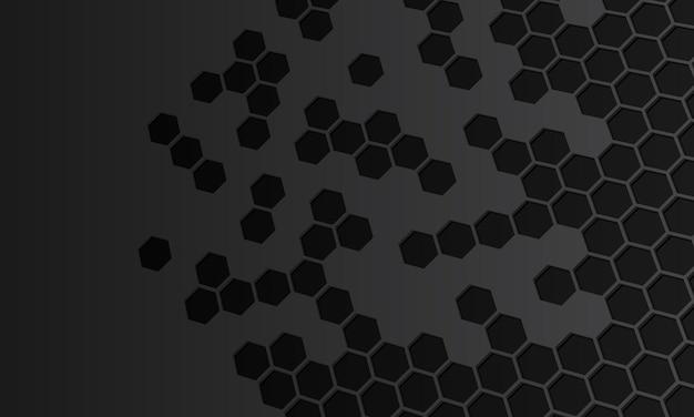 Abstracte donkere zeshoekige achtergrond. sjabloon voor achtergronden van mobiele telefoons.