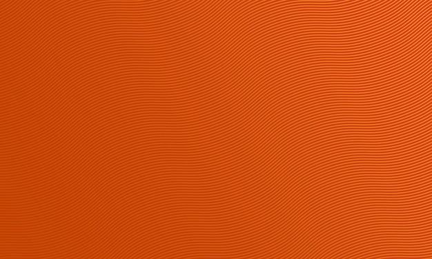 Abstracte donkeroranje met de achtergrond van krommelijnen. vector illustratie. patroon voor advertentie, boekjes.