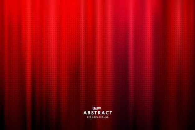 Abstracte donkerrode kleurenachtergrond met halftone effect.