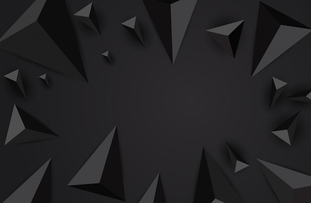 Abstracte driehoek achtergrond.