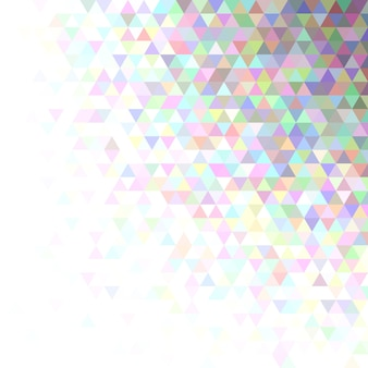 Abstracte driehoek patroon achtergrond