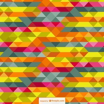 Abstracte driehoeken gratis sjabloon