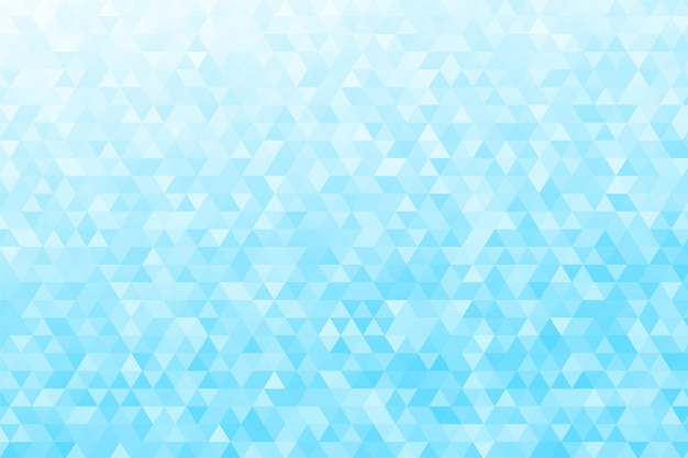 Abstracte driehoekige achtergrond. veel digitale blauwe driehoeken zien er modern uit.