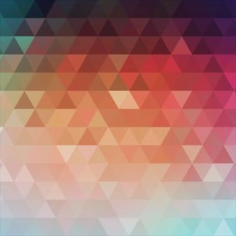 Abstracte driehoekige achtergrond.