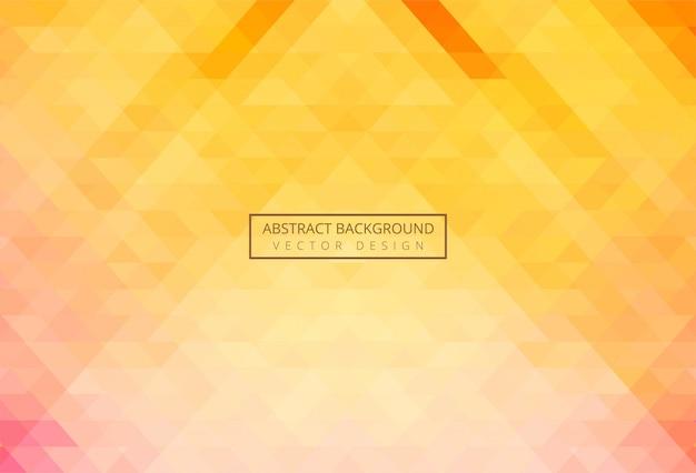 Abstracte driehoeks kleurrijke achtergrond