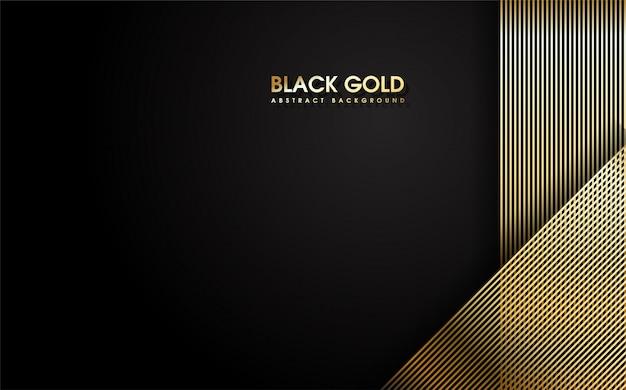 Abstracte dunne gouden strepen.
