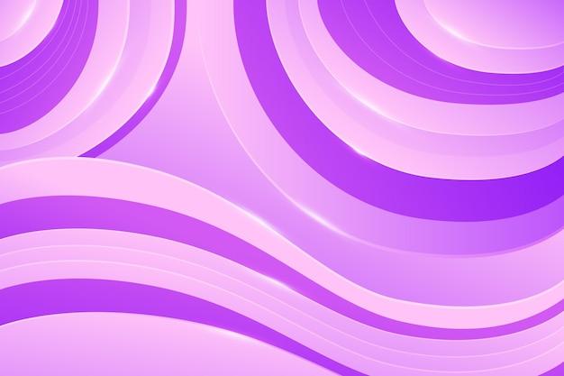 Abstracte dynamische achtergrond met golvende lijnen